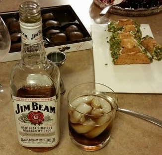 This is about the cannoli not the Jim Beam...I do not have a drinking problem