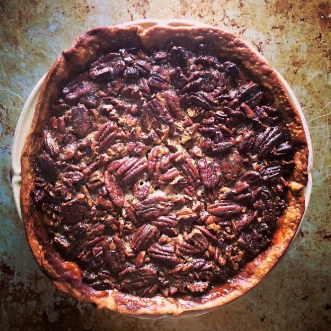 My Makers Mark Pecan Pie